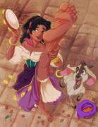 Disney (героини мультфильмов)Foot Collection!