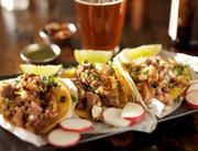 Мексиканская еда, тако / Mexican tacos ME66LU_t