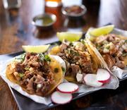Мексиканская еда, тако / Mexican tacos ME66LR_t