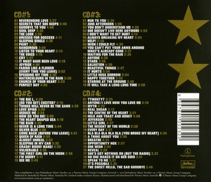 Roxette - The Roxbox! A Collection Of Roxette's Greatest Songs (Box set, 4CD) (2015) FLAC